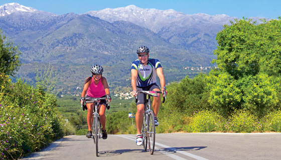 Greece Family Biking Tour